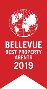 Fahne Bellevue Best Property Agents 2019