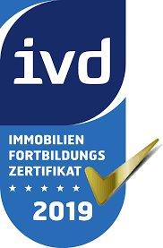 Ivd Immobilien Fortbildungszertifikat 2019