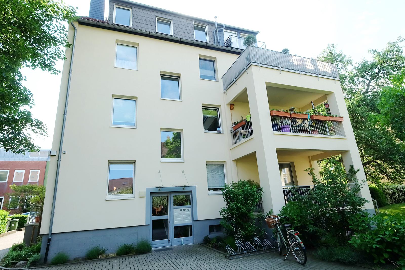 2-Zimmer-Dachgeschosswohnung, Braunschweig-Innenstadt