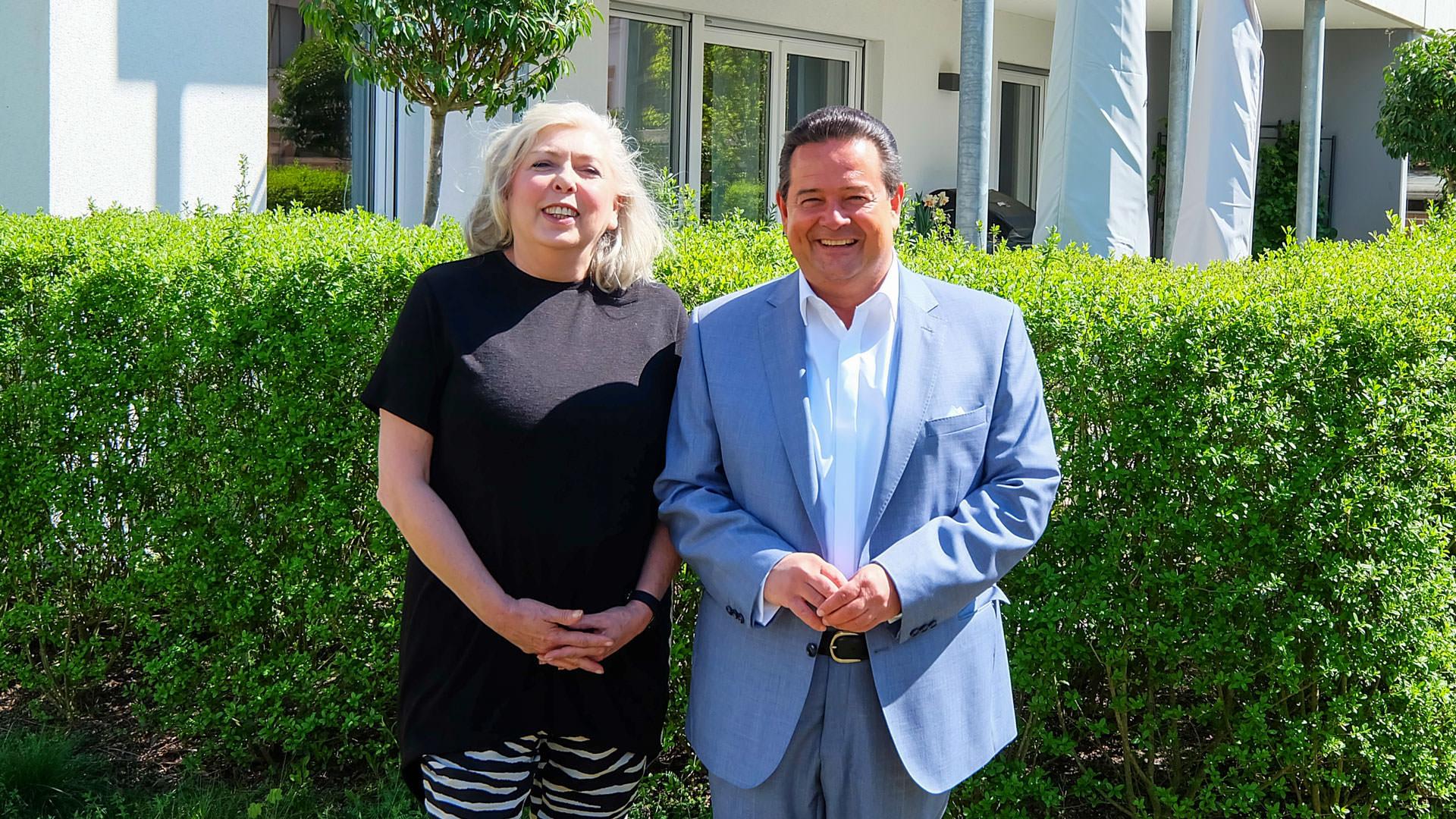 Sabine Knispel und Maik Hübner